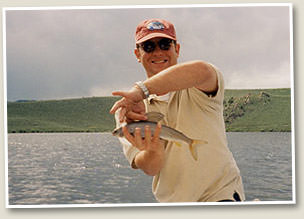 Meadow Lake - Fly fishing Wyoming
